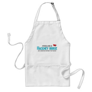 I Rescued a Hackney Horse (Female Horse) Aprons