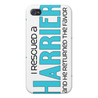 I Rescued a Harrier (Male Dog) Covers For iPhone 4