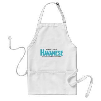 I Rescued a Havanese (Male Dog) Adult Apron