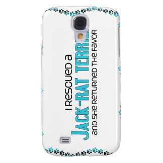 I Rescued a Jack-Rat Terrier (Female) Dog Adoption Galaxy S4 Cases