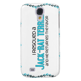 I Rescued a Jack-Rat Terrier (Male) Dog Adoption Samsung Galaxy S4 Covers