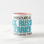 I Rescued a Jack Russell Terrier (Male Dog) Mug