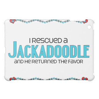 I Rescued a Jackadoodle (Male) Dog Adoption Design iPad Mini Cases