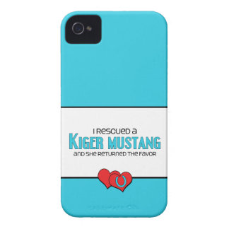 I Rescued a Kiger Mustang (Female Horse) iPhone 4 Case-Mate Case