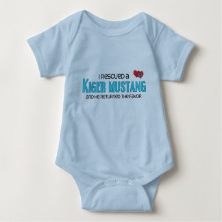 I Rescued a Kiger Mustang (Male Horse) Baby Bodysuit