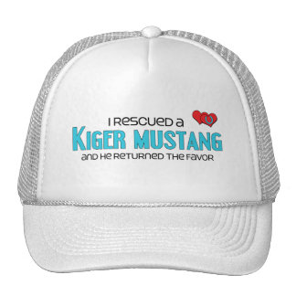 I Rescued a Kiger Mustang (Male Horse) Trucker Hat