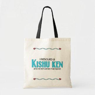 I Rescued a Kishu Ken (Male Dog) Budget Tote Bag