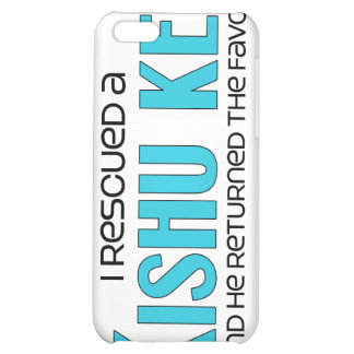 I Rescued a Kishu Ken (Male Dog) Cover For iPhone 5C
