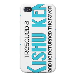 I Rescued a Kishu Ken (Male Dog) Cover For iPhone 4