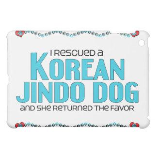 I Rescued a Korean Jindo Dog (Female Dog) Cover For The iPad Mini