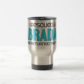 I Rescued a Labradane (Male) Dog Adoption Design Travel Mug