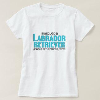I Rescued a Labrador Retriever (Female Dog) T-shirt