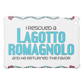 I Rescued a Lagotto Romagnolo (Male Dog) Cover For The iPad Mini