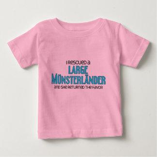 I Rescued a Large Münsterländer (Female Dog) Baby T-Shirt