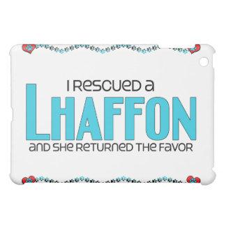 I Rescued a Lhaffon (Female) Dog Adoption Design Cover For The iPad Mini