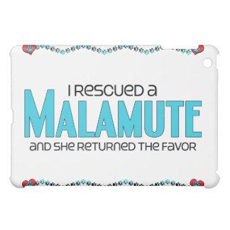 I Rescued a Malamute (Female Dog) Case For The iPad Mini