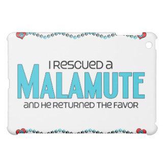 I Rescued a Malamute (Male Dog) Cover For The iPad Mini