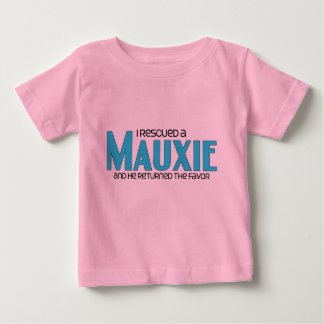 I Rescued a Mauxie (Male) Dog Adoption Design T Shirt