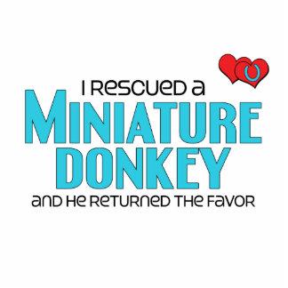 I Rescued a Miniature Donkey (Male Donkey) Photo Sculpture
