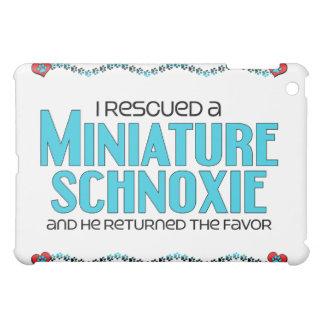 I Rescued a Miniature Schnoxie (Male) Dog Adoption iPad Mini Cases