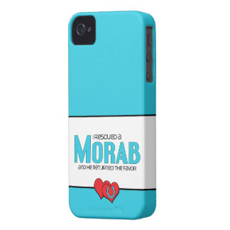 I Rescued a Morab (Male Horse) iPhone 4 Cover