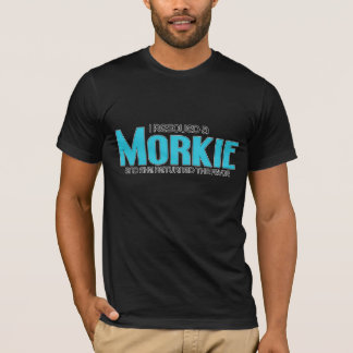 I Rescued a Morkie (Female) Dog Adoption Design T-Shirt