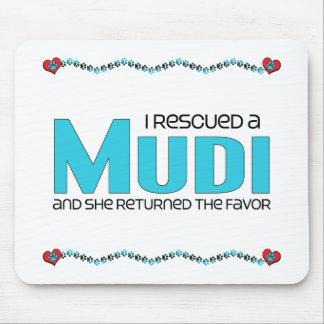 I Rescued a Mudi (Female Dog) Mouse Pad