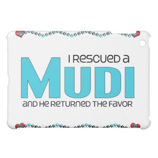 I Rescued a Mudi (Male Dog) Cover For The iPad Mini