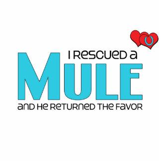 I Rescued a Mule (Male Mule) Photo Cut Outs