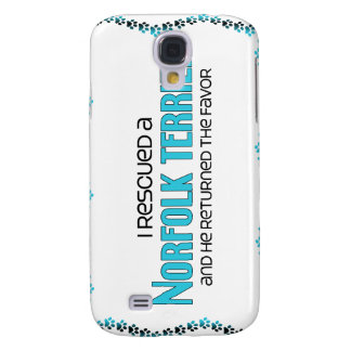 I Rescued a Norfolk Terrier (Male Dog) Samsung Galaxy S4 Covers