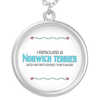 I Rescued a Norwich Terrier (Male Dog) Jewelry