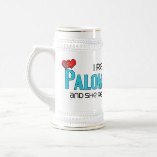 I Rescued a Palomino Pony (Female Pony) 18 Oz Beer Stein