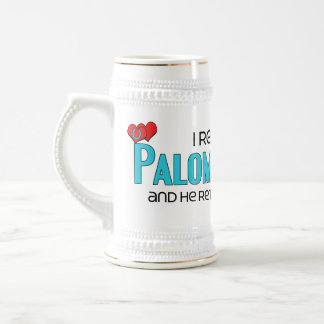 I Rescued a Palomino Pony (Male Pony) 18 Oz Beer Stein