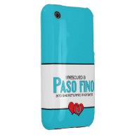 I Rescued a Paso Fino (Female Horse) iPhone 3 Case-Mate Cases