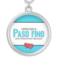 I Rescued a Paso Fino (Male Horse) Jewelry