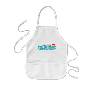 I Rescued a Perlino Horse (Male Horse) Aprons