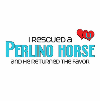 I Rescued a Perlino Horse (Male Horse) Photo Sculptures