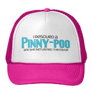 I Rescued a Pinny-Poo (Female) Dog Adoption Design Trucker Hat