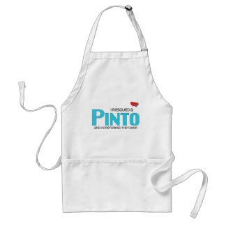 I Rescued a Pinto (Male Horse) Aprons