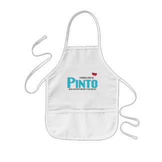 I Rescued a Pinto (Male Horse) Kids' Apron