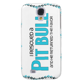 I Rescued a Pit Bull (Male Dog) Samsung S4 Case