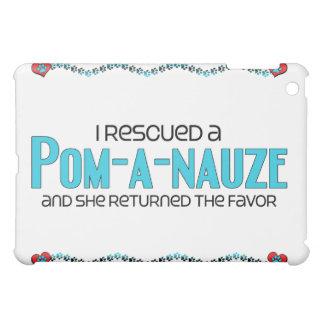 I Rescued a Pom-A-Nauze (Female) Dog Adoption Cover For The iPad Mini