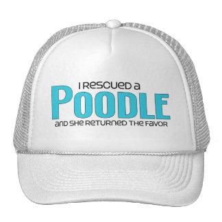 I Rescued a Poodle (Female Dog) Trucker Hat