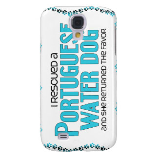 I Rescued a Portuguese Water Dog (Female Dog) Galaxy S4 Cases