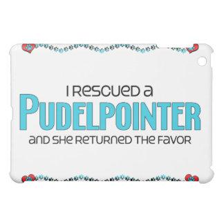 I Rescued a Pudelpointer (Female Dog) iPad Mini Covers