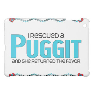 I Rescued a Puggit (Female) Dog Adoption Design iPad Mini Cases