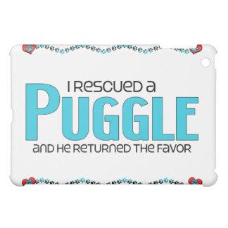 I Rescued a Puggle (Male) Dog Adoption Design iPad Mini Cover