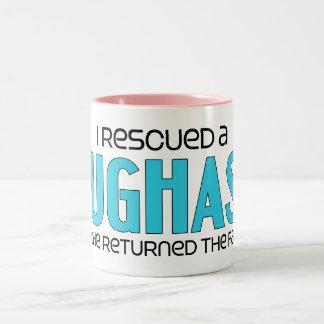 I Rescued a Pughasa (Male) Dog Adoption Design Coffee Mug