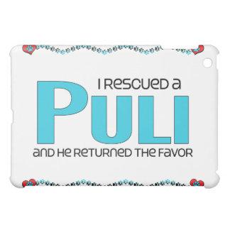 I Rescued a Puli (Male Dog) iPad Mini Covers