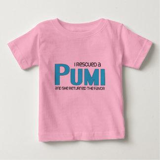 I Rescued a Pumi (Female Dog) Baby T-Shirt